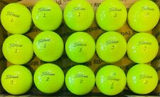 Fifteen (15) Yellow Titleist Pro V1 used golf balls *SHIPS SAME DAY*