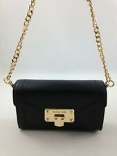 New Authentic Michael Kors Kinsley Small Belt Bag Crossbody Purse Black