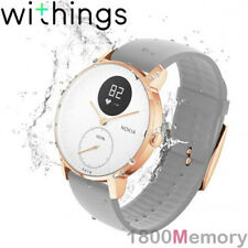 GENUINE Withings Steel HR 36mm Multi-Sport Hybrid Smart Watch White Rose Gold