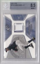 2001 SPX Game Jersey Juan Uribe Rookie Graded BGS 8.5