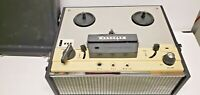 Concord Model 120 Transistorized Portable Reel to Reel Tape Player & Recorder