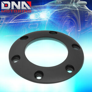 NRG INNOVATIONS STR-001BK STEERING WHEEL CENTER BOLT-ON HORN BUTTON RING BLACK