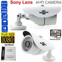 1080p Full HD 2.4 MP CCTV Bullet Camera Sony Lens IR Night Vision home security