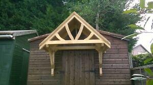 Wooden Door Canopy