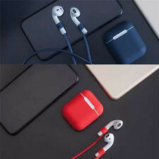 Case for AirPod Soft Silicone Shock Proof Protective Waterproof Cover Earphone M