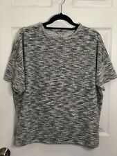 Calvin Klein Jeans Short sleeve soft textured top. Size M. **NWT**