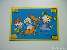 Autocollant Stickers Les Razmoket Rugrats Nickelodeon N°152 / Panini 1999