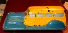 Early Vintage The Sun Rubber Co. Toy Rubber Woody Station Wagon # 530