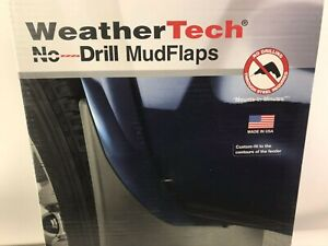 WeatherTech No-Drill MudFlaps for Ford F-250 / F-350 2011-2016 Front & Rear Set