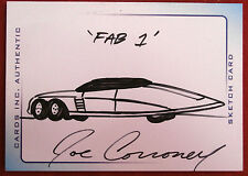 THUNDERBIRDS ARE GO! (2004 Movie) - Scarce INK Sketch - FAB 1 - JOE CORRONEY