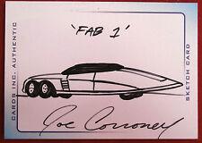 THUNDERBIRDS ARE GO! (2004 Movie) - Scarce INK Sketch - FAB 1 - JOE CORRONEY