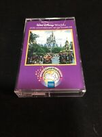 Vintage Walt Disney World 25th Anniversary Music Sampler Cassette