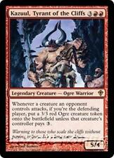 KAZUUL, TYRANT OF THE CLIFFS Worldwake MTG Red Creature — Ogre Warrior RARE