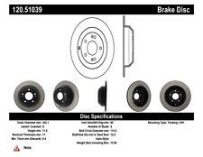 StopTech Disc Brake Premium Rotor for 10-19 Hyundai Santa Fe / 2014 Kia Sorento