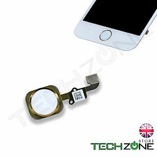 For iPhone 6 & iPhone 6 Plus Home Button Flex Main Menu Replacement Button Gold