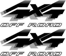 1992 - 1996 4x4 Off Road Decals for Ford F-Series F250 Truck / Bronco BLACK