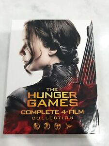 The HUNGER GAMES Complete 4-Film Collection DVD Genuine R4 Australian format DVD