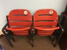 St. Louis Cardinals Busch Stadium Game Used Double Figural Seats MLB HOLO /50