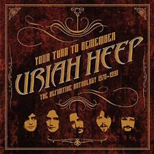 Uriah Heep - Your Turn to Remember: The Definitive Anthology 1970 - 1990 [CD]