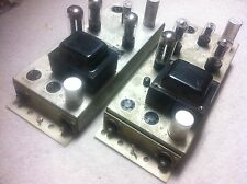 Vintage Wurlitzer 6420 Amplifier Project Pair -Stereo 6L6/6sn7 Tube