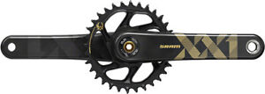 SRAM XX1 Eagle DUB MTB 1x 12 Speed Carbon Crankset 34t x 170mm Black/Gold
