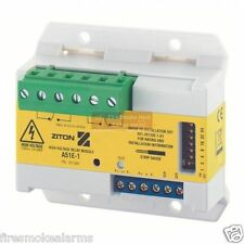 ZITON CLYMAC Fire Smoke Alarm System 230v A51E A51E-1 High Voltage Relay Module