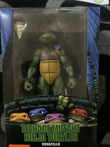 Neca Teenage Mutant Ninja Turtle Figure Donatello Boxed 7in