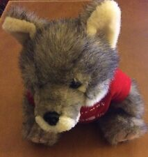 Plush Wolf with Siemon T-Shirt 9""