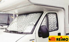 REIMO Thermal Mats/Screens 3 Piece For Fiat Ducato (2007-2014) Motorhome, Camper