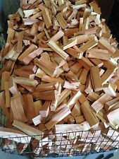 Cherry Wood Chunks for Smoking Grilling 12-20 lbs box Free Ship NO BARK!