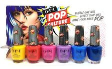 OPI Nail Lacquer - POP CULTURE SUMMER 2018 - All 6 Colors - NLP48-NLP53