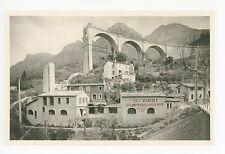Confiserie du Vieux Moulin CPA Gorges du Loup RPPC Photo PROVENCE WWII Destroyed
