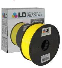 Yellow 3D Printer Filament 1.75mm ABS PLA PETG TPU 1kg 2.2lb For RepRap MakerBot
