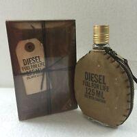 Diesel Fuel For Life Men Eau de Toilette Edt Spray 4.2oz 125ml Authentic Perfum
