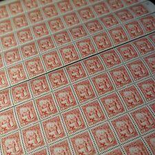 FEUILLE SHEET TUNISIE N°165 x100 EN 2 PARTIES PORTEUSE D'EAU 1931 NEUF ** MNH
