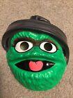 1979 Vintage Muppets Oscar the Grouch Ben Cooper Halloween Mask
