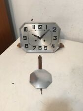 Antique Art Deco Wall Clock Parts German French Odo Kienzle Era Unsigned