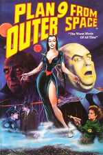 """PLAN 9 FROM OUTER SPACE """"THE WORST MOVIE OF ALL TIME"""" 1990 MALIBU GRAPHICS COMIC"""