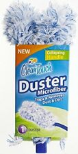Clean Touch Disposable/Reusable Duster Microfiber with Collapsing Handle #8359