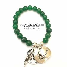 Happiness Tree Of Life Angel Wing Live Love Laugh Charms Friendship Bracelet