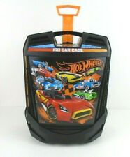 Hot Wheels Rolling Carry Case Wheeled Storage Box Suitcase Style Holds 100 Cars