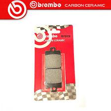 Plaquette de Frein BREMBO Carbone Ceramic Arrière Pour Peugeot City Star 150 11>