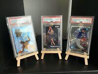 PSA Sports,NBA,Baseball,Football,Pokemon cards Trading card display stand/easel