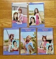Red Velvet SM TOWN SUM 'The ReVe Festival' Day 2 Hologram Photocards Set