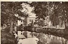 Carte GIF SUR YVETTE Vue du Manoir de Courcelles sur le Canal Vallée Chevreuse