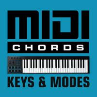 Midi Chords - Keys & Modes - General Midi Files - Logic Pro Cubase Ableton Live