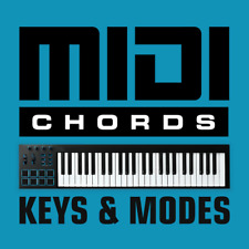 Midi Chords - Keys & Modes - General Midi Files - Logic Pro Cubase Ableton Live