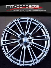 Wheelworld WH18 Felgen 7.5 X 17 Zoll 5 X 112 35 Silber Alu Audi VW Skoda Seat