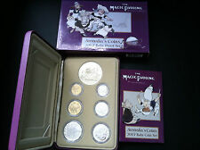 2007 ROYAL AUST MINT MAGIC PUDDING 6 COIN BABY PROOF SET
