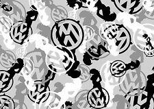 VW GIRL STICKERBOMB BLATT -schwarz & Weiß -A5 GRÖßE x1 ) VW/DRIFT/iphone
